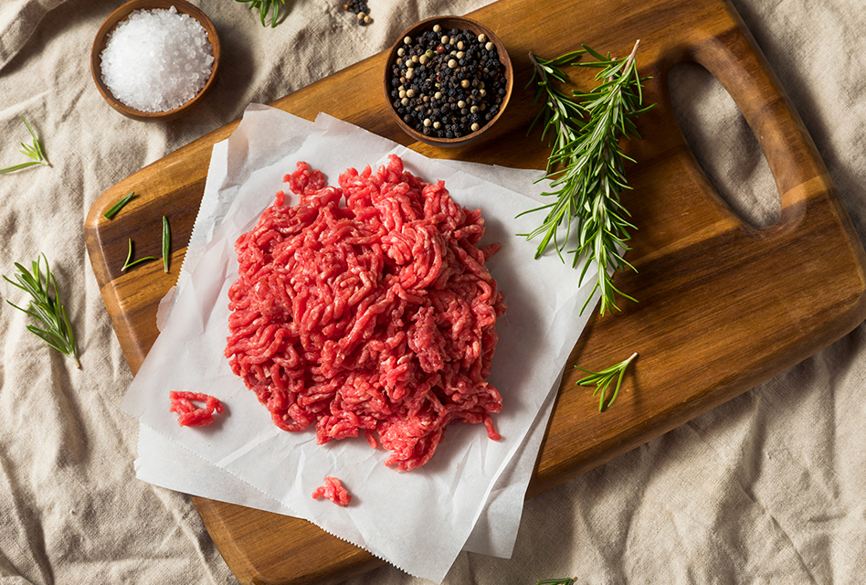 ¿Burguer meat o carne picada?